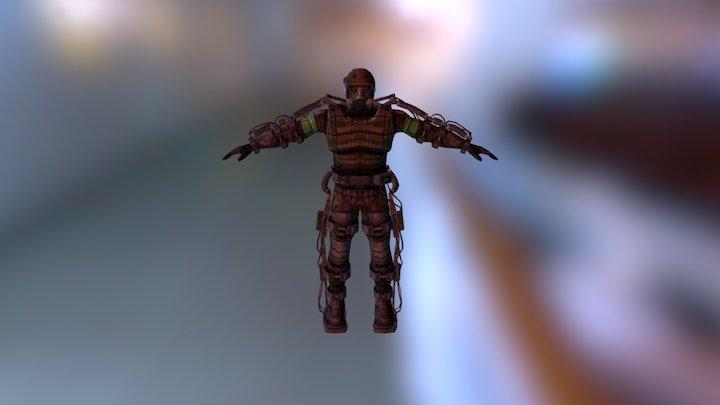 Stalker Exo 3D Model