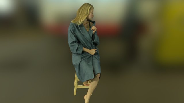 Anastasia Pose5 3D Model