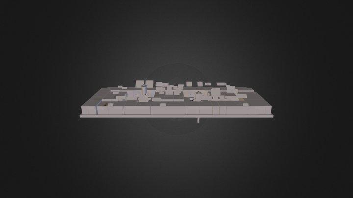 Third Floor 3D Model