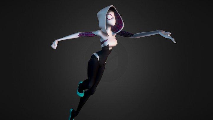 Spider-Gwen 3D Model