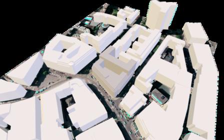 DAMMTORSTRASSE 1 3D Model