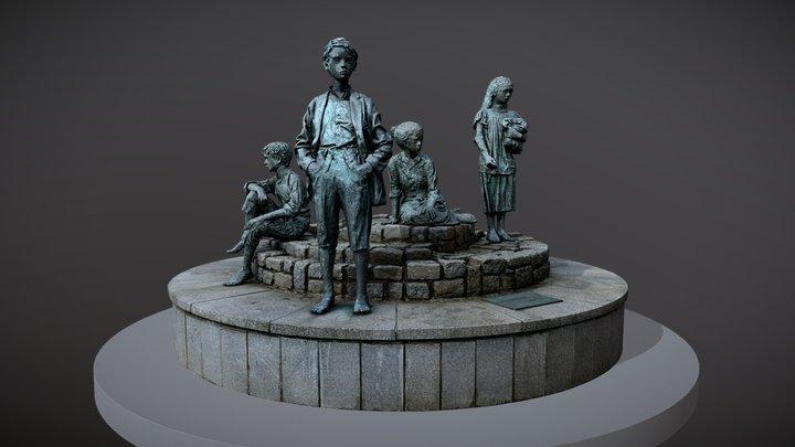 """Letterkenny - Market Square """"The Hiring Fair"""" 3D Model"""