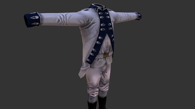 Uniform_2_French 3D Model