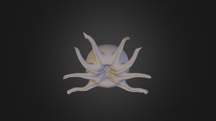 Brainy_Octopus 3D Model