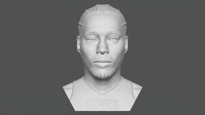 Kawhi Leonard bust for 3D printing 3D Model