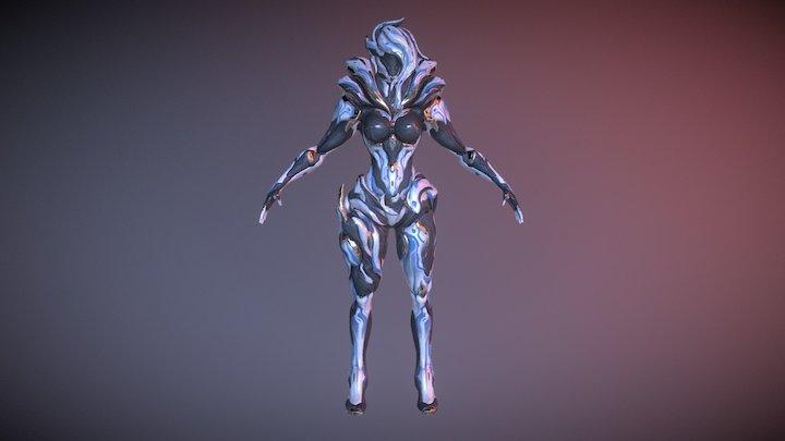 Saryn Napellus (T-Pose) 3D Model