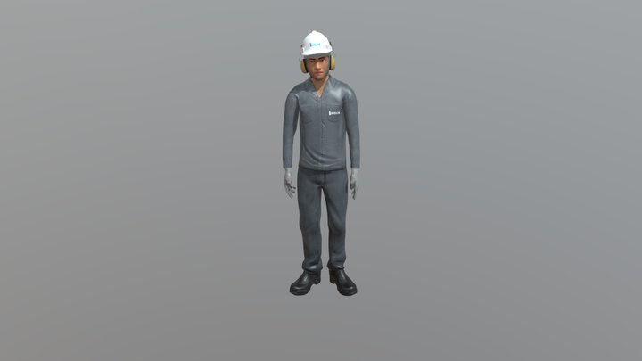 Personagem Inside 3D Model