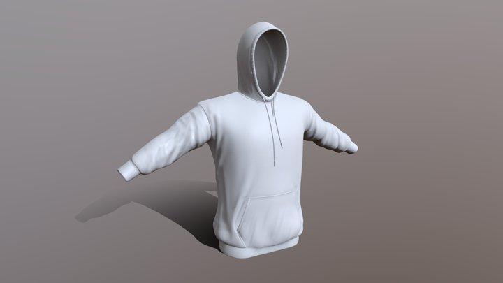 Hoodie Main 3D Model