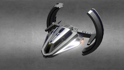 Zume-3 USS Galileo 3D Model