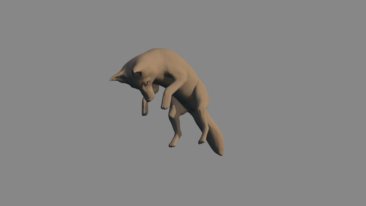 Renard 3D Model