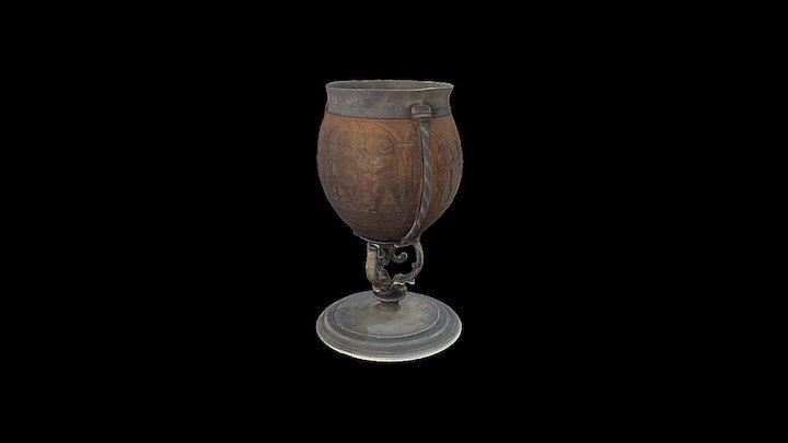 Coconut Goblet England - Science Museum london 3D Model