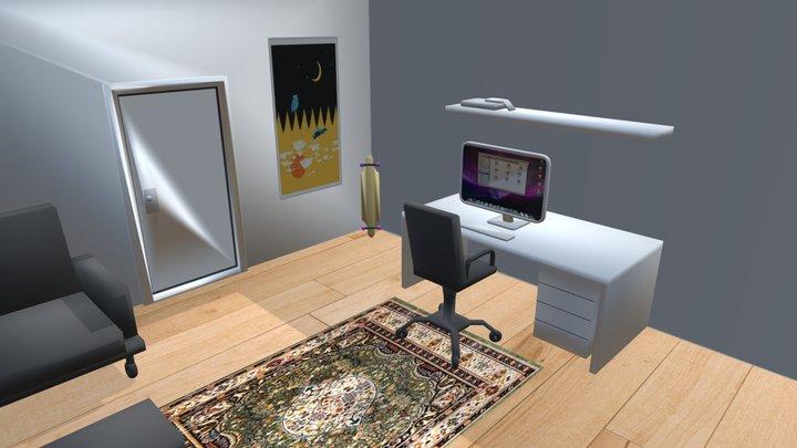 Atividade Quarto 3D Model
