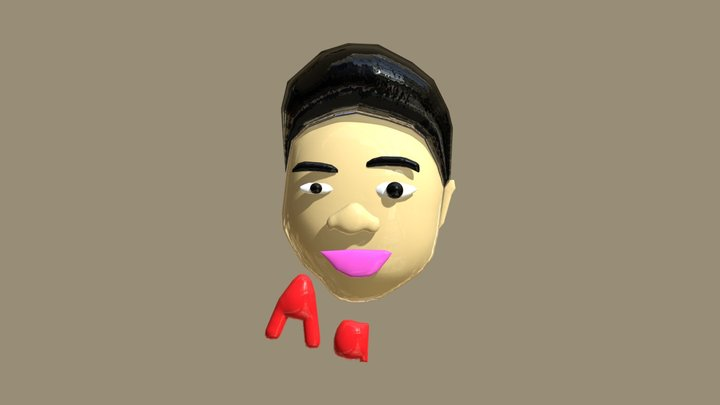 3D Version Of Myself 3D Model