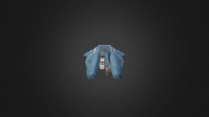 Hiigaran Interceptor 3D Model