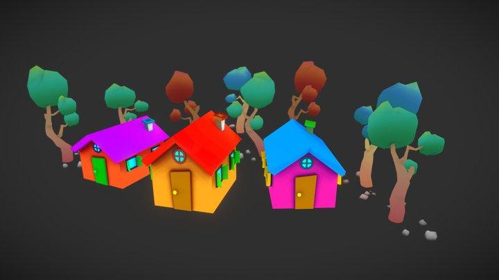 Speed Modeling Assets 3D Model