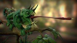 Chameleopard 3D Model
