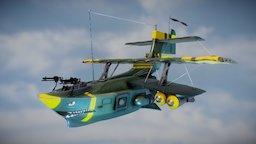 """B -104 """"Le petit bâtard"""" Plane 3D Model"""