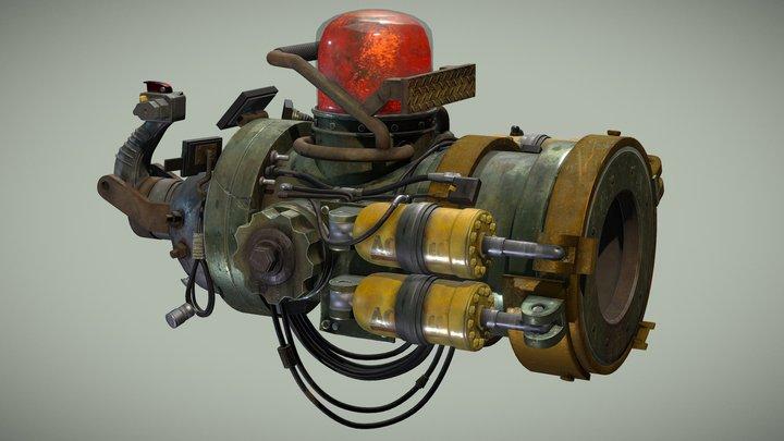 Junker Gun 3D Model