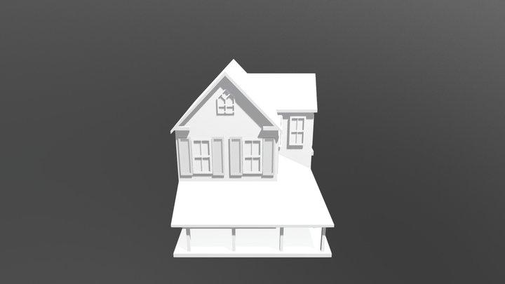 Старый дом / Old House 3D Model