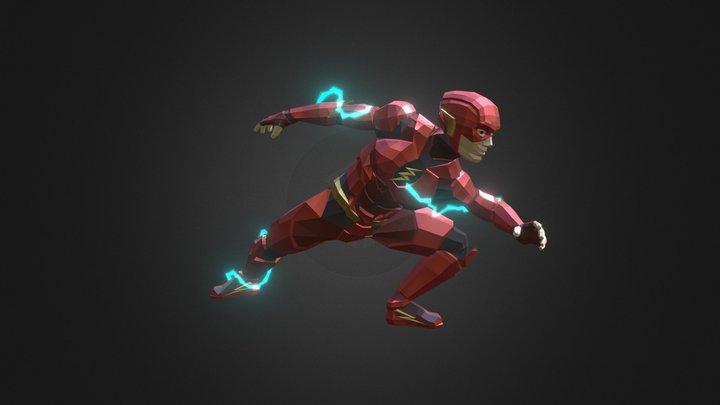 Flash (Ezra Miller) 3D Model