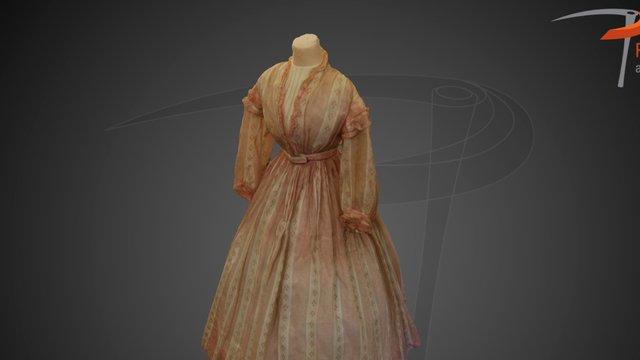 Merchant's House Museum Tredwell Dress 3D Model