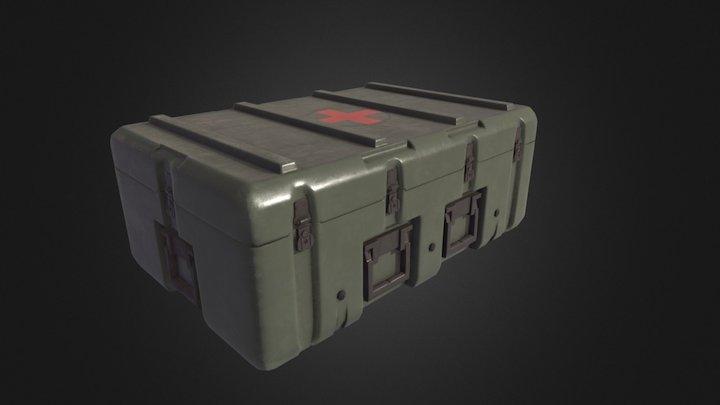 PBR Medic Box 3D Model