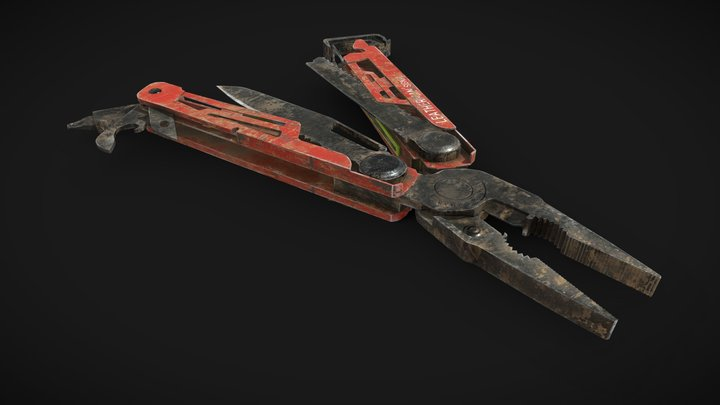 Assignment 2: Leatherman_Signal_Tool 3D Model