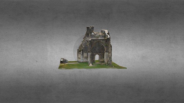 Abbaye de Saint Evroult 3D Model
