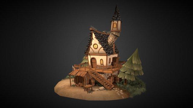 Ye Olde Tavern 3D Model
