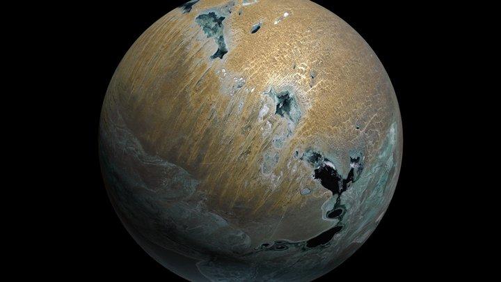 Planet Salusa Secundus 3D Model