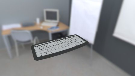 Keyboard 3D Model