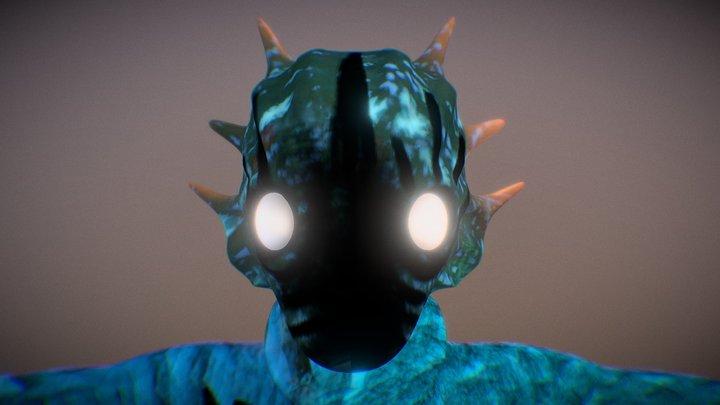KIERA-Alien Character 3D Model