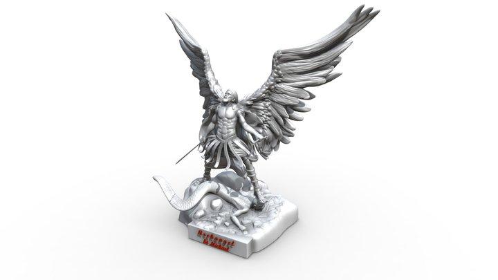 St Michael the Archangel - 3D printable 3D Model