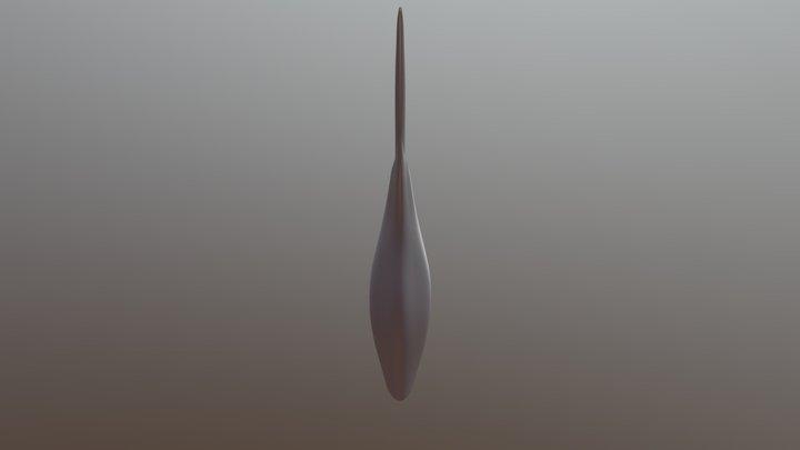 Anomochola marantoidea 3D Model