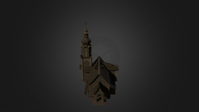 Abandoned church from RESTORE 3D Model