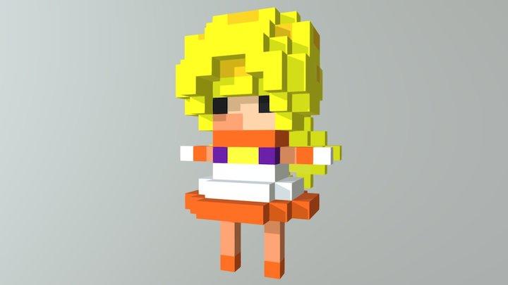 Venus Girl 3D Model