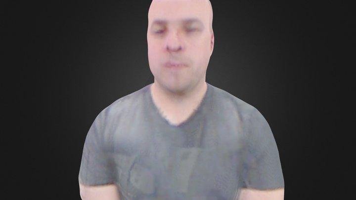 Kevin M 3D Model