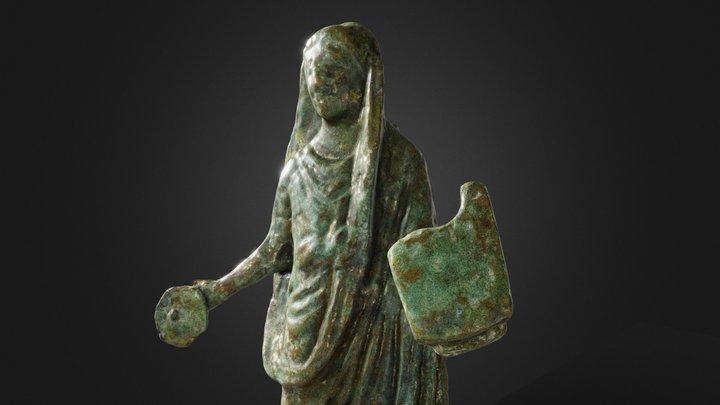 Figurine de prêtre | Figurine of a Priest 3D Model