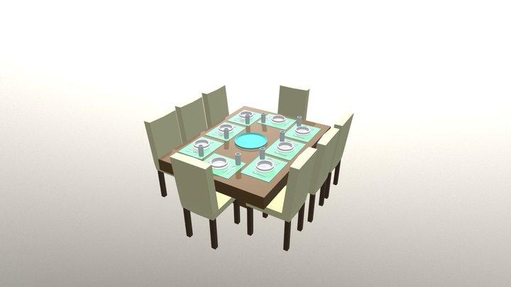 Comedor A 3D Model