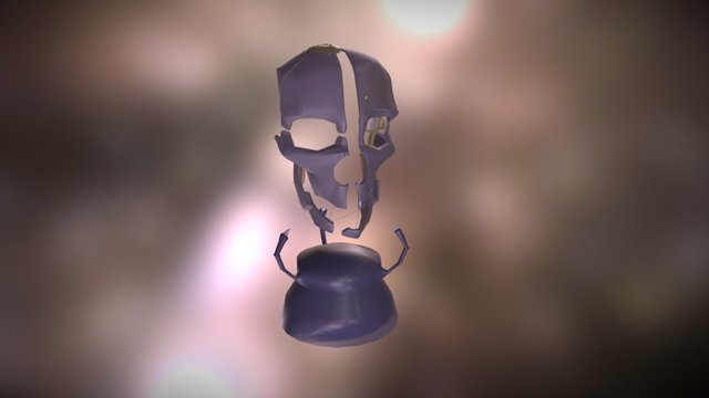Dishonored Mask 3D Model