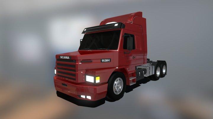 Scania 113H 3D Model