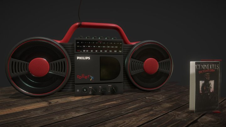 Philips Roller - IT Edition 3D Model