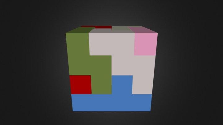 Entire Cube 3D Model