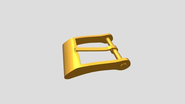 Belt Buckle 3D Model