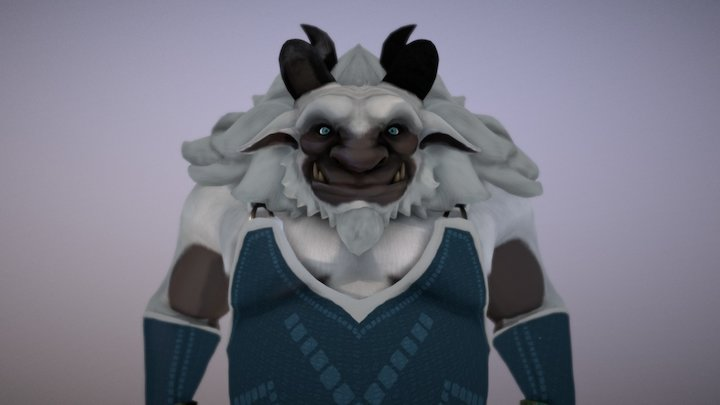 Yeti 3D Model