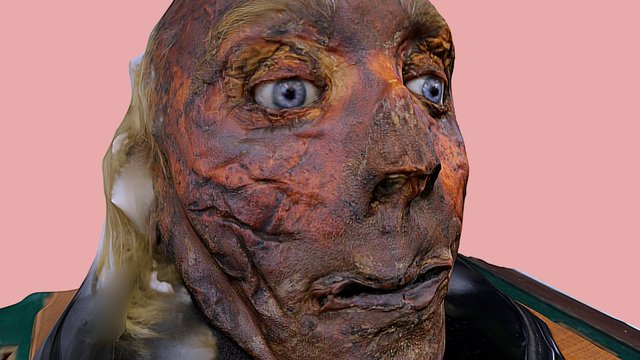 Jeremy Bentham's Severed Head 3D Model