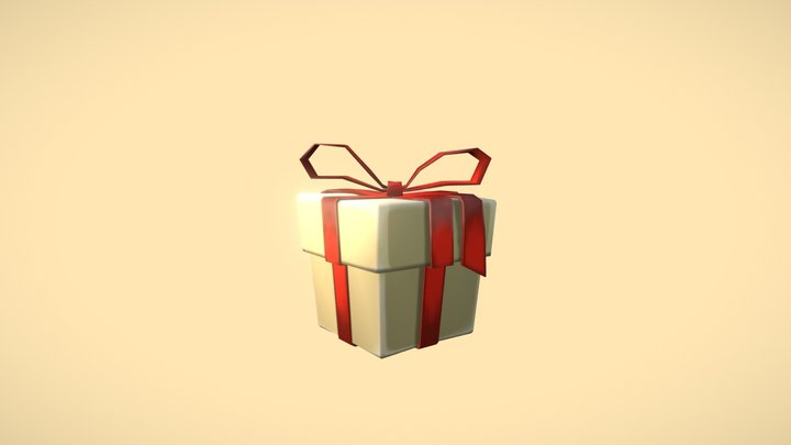 Red Panda Collection I Giftbox Animation 3D Model