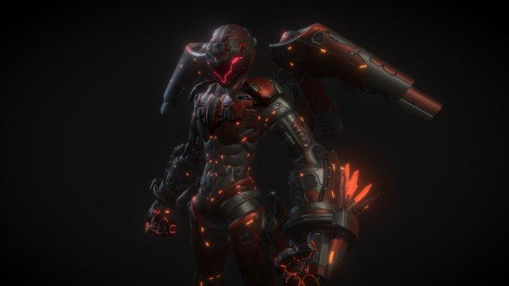 Sci-Fi Buster 3D Model