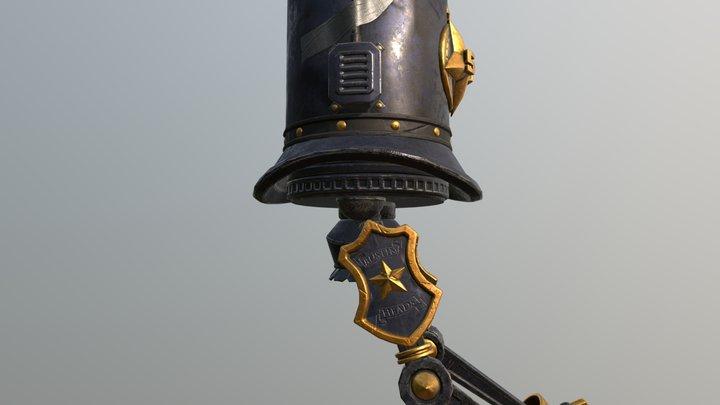 Police-Bot 3D Model