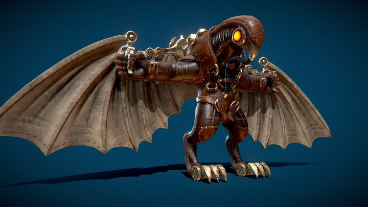Songbird - Bioshock Infinite 3D Model